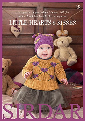 sirdar-little-hearts-kisses-pattern-book-443-14-designs-for-0-7-yrs-