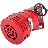 Yiguo AC 110V 120dB MS-190 Industrial Alarm Sound Motor High Power Buzzer Siren Red