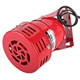 Newcreativetop Industrial AC 110V 120dB MS-190 Alarm Sound Motor High Power Buzzer Siren