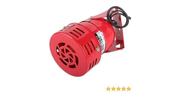 Baomain AC 110V 120db MS-190 Alarm Sound Motor High Power Buzzer Siren