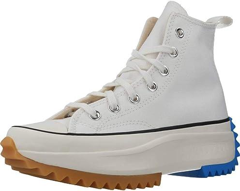 grandioso Señora espectro  Amazon.com | Converse Run Star Hike HI (White/Egret/Photo Blue, 11) |  Fashion Sneakers