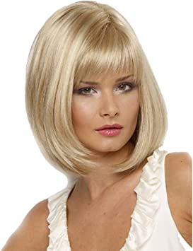 MID SHOULDER LENGTH BOB WIG FOR FANCY DRESS PARTIES.