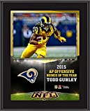 """Todd Gurley St. Louis Rams 10.5"""" x 13"""" NFL Honors 2015 Offensive Rookie of the Year Sublimated Plaque - Fanatics Authentic Certified"""