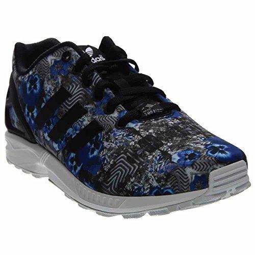Scarpe Da Uomo Casual Adidas Zx Flux Taglia Nero / Blu-bianco
