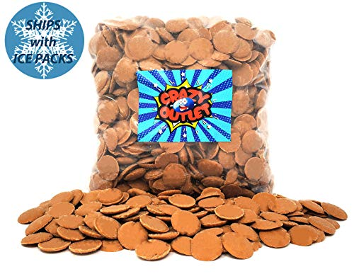 - CrazyOutlet Pack - Peanut Butter Flavor Coating Wafers Candy, Melting Peanut Butter Candy Bulk Pack, 2 Lbs