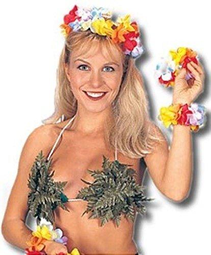 Jacobson Hat Company Jungle Leaf Bikini Top]()