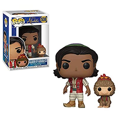 Funko Pop! Disney: Aladdin Live Action - Aladdin with Abu: Toys & Games