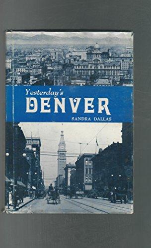 book cover of Yesterday\'s Denver