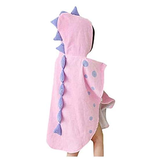 Baiomawzh Ropa Bebe Niño Niña Recién Nacido Verano Pijamas Camisón Forma de Dinosaurio Disfraz de Fotografía Toalla de baño DE Algodón Ropa de ...