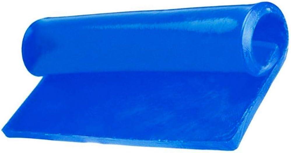 Lastra Gel moto cuscino ammortizzatore in gel per sella moto adesivo super comfort 25x20x1cm