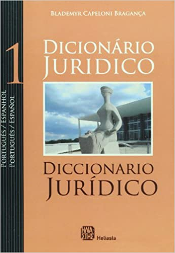 Amazon.com: Diccionario juridico portugues-espanol / espanol ...