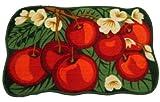 "Daniel's Cherry Kitchen Mat Red and Green - 31""x19"""