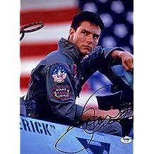Tom Cruise SIGNED 11x14 Photo LT Maverick Mitchell Top Gun AUTOGRAPHED - PSA/DNA Certified