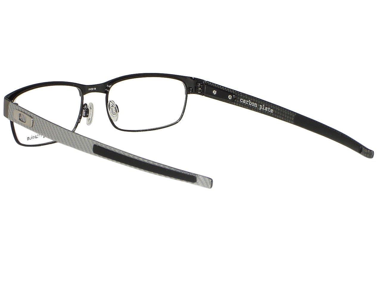 cb1b75390e Oakley Carbon Plate OX5079-0255 Light Titanium Eyeglasses 55mm  Amazon.ca   Clothing   Accessories