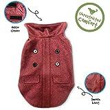 Pet Craft Supply 8989 Pet Coat, X-Small, Burgundy