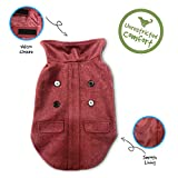Pet Craft Supply 8990 Pet Coat, Small, Burgundy For Sale
