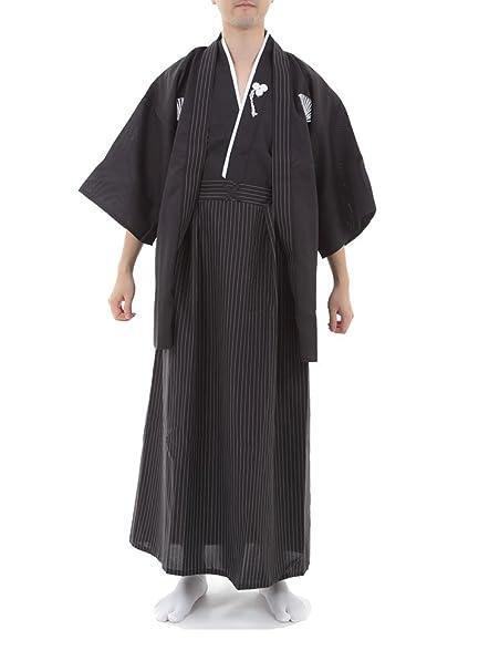 Amazon.com: Disfraces de kimono para Hombre japonés Samurai ...