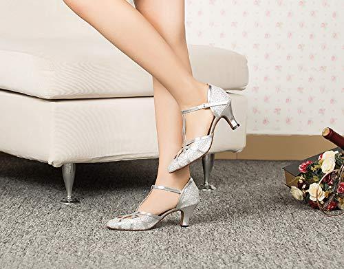 Meijili Meijili Silver donna donna Silver Ballroom Ballroom zzqCtw7