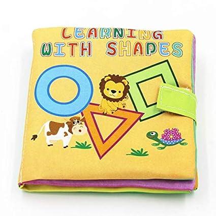 Amazon.com: 4 estilos de juguetes para bebé, blandos de tela ...