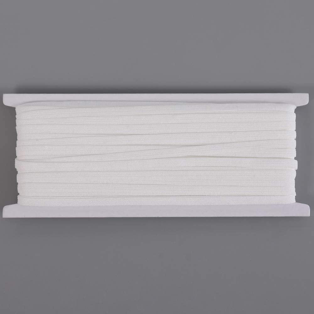 noma 20m Langes 5mm Breites Flaches Elastisches Gummiband Gummilitze