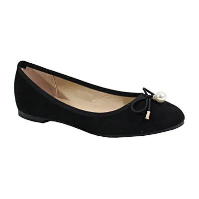 By Shoes Ballerine Plate Style Daim - Femme