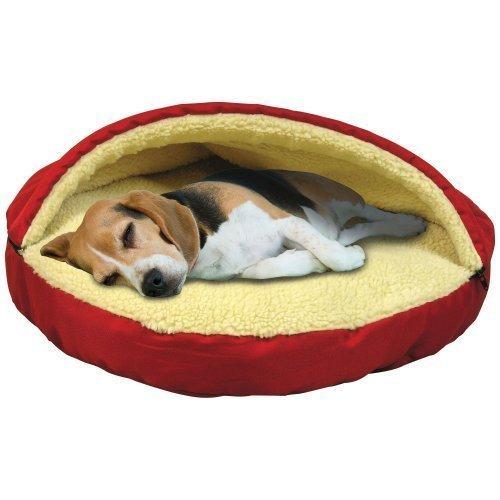 (Trademark Global Plush Cave Pet Bed)