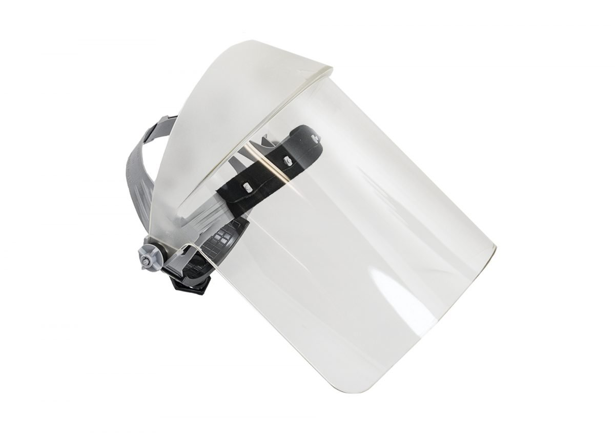 Clear UV400 Protective Face-Fit Faceshield by Oberon Company