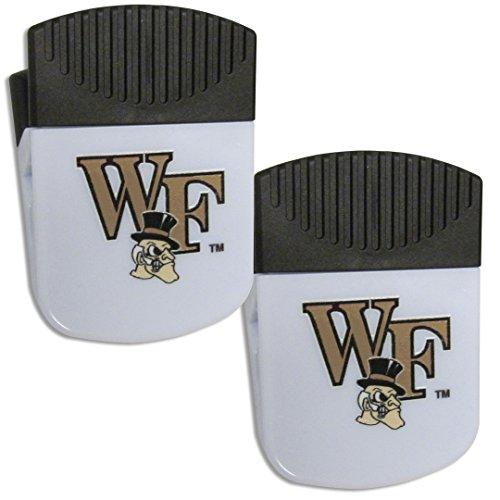 Wake Forest Demon Deacons Bottle (NCAA Wake Forest Demon Deacons Chip Clip Magnet with Bottle Opener, 2 Pack)