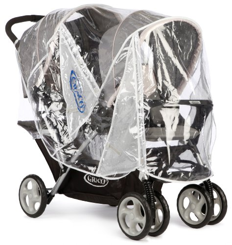 Graco Stadium Duo Stroller Raincover (Neutral) by Graco