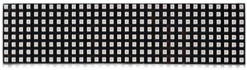 HaiNing Zheng 8 * 32センチメートルのWS2812B 256ピクセルデジタル5050 RGB夢色のプログラムされたLEDモジュールストリップDC5V