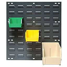Quantum Storage Wall-Mounted Louvered Panel