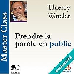 Prendre la parole en public (Master Class)