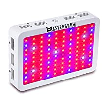MasterGrow 1000W, Led Grow Light,Double Chips, Full Spectrum,Greenhouse Grow Tent Plants Vegetables and Flowering Growing(10wX100pcs)