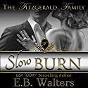 Slow Burn Audiobook by E. B. Walters Narrated by Nina Naughton