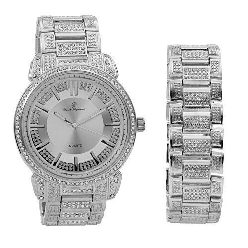 Bling Bling Mens Hip Hop with Class Watch - Charles Raymond Watches For Men
