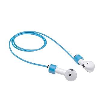 MC24 Airpods - Soporte para sujeción de banda Auriculares funem - Flexible Banda Straps correa de cuello de banda Straps blanda para auriculares: Amazon.es: ...