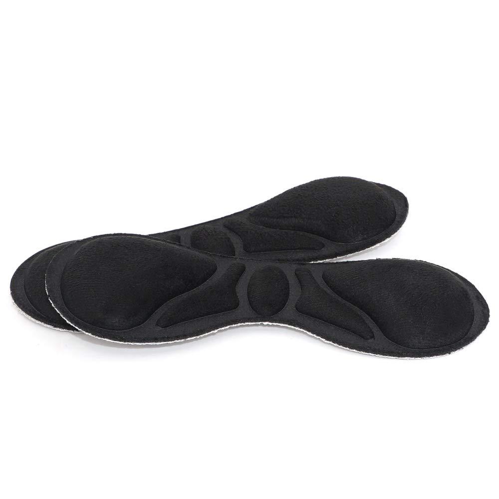 Dr. Shoesert Heel Grips for High Heels, Heel Cushion Inserts for Women and Men, Self-Adhesive Heel Protectors (Black)