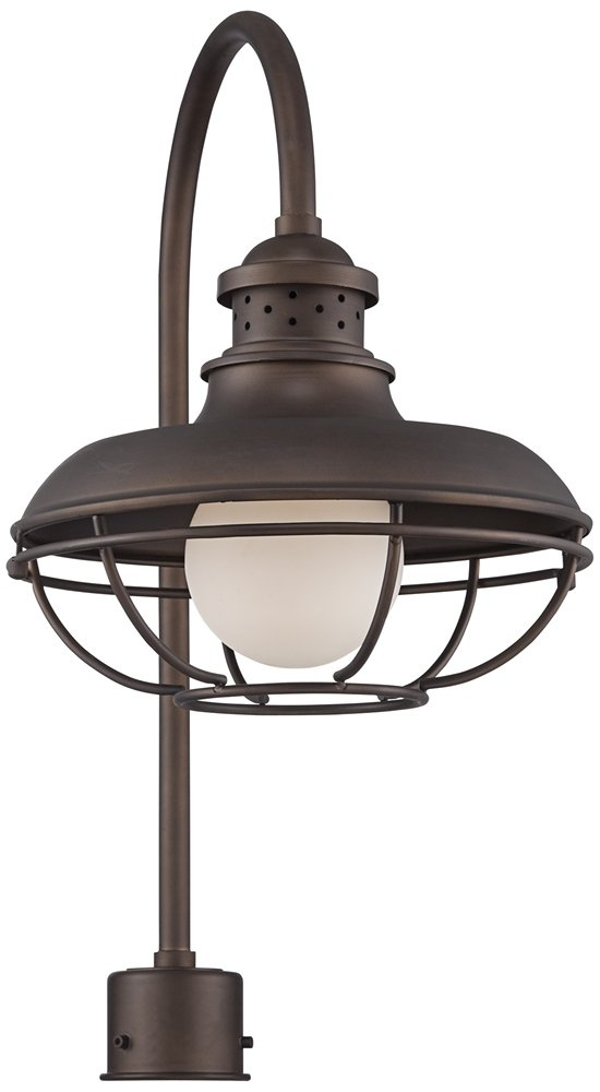 Franklin Park Metal Cage 23 1/2'' High Bronze Post Light by Franklin Iron Works
