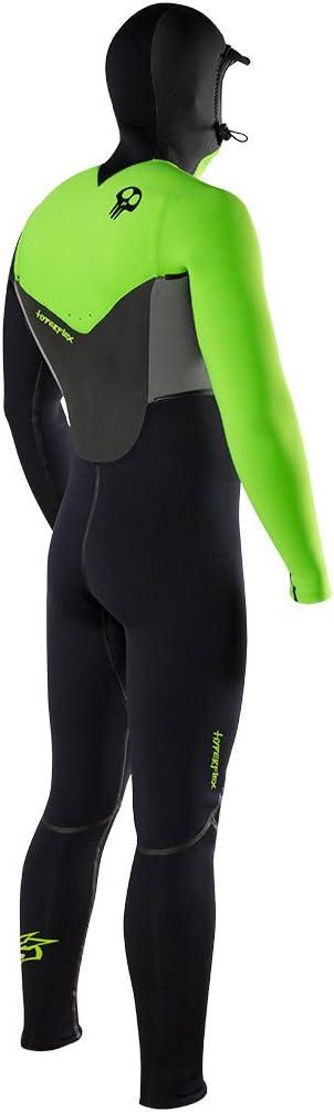 Hyperflex Wetsuits Mens Voodoo 4mm Hooded Front Zip Fullsuit