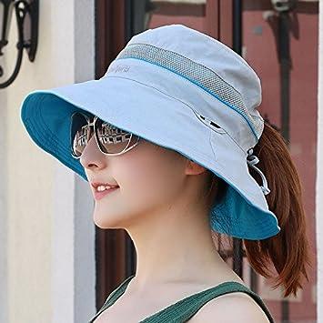 LONFENN Ladies Women Hats Sunscreen Double Fisherman S Hat Men S Spring  Summer Foldable Basin Cap Couple Outdoor 99625b73528a