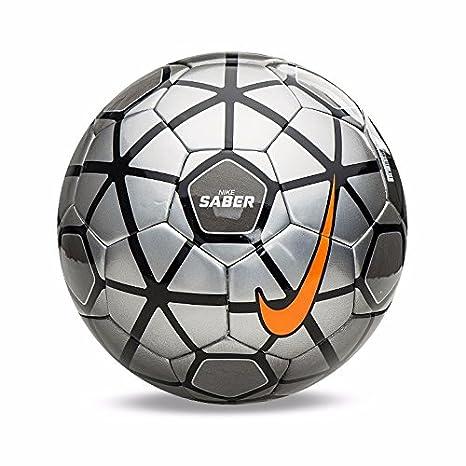 Nike Sable pelota fútbol Silver SC2739-012 Tamaño 5: Amazon.es ...