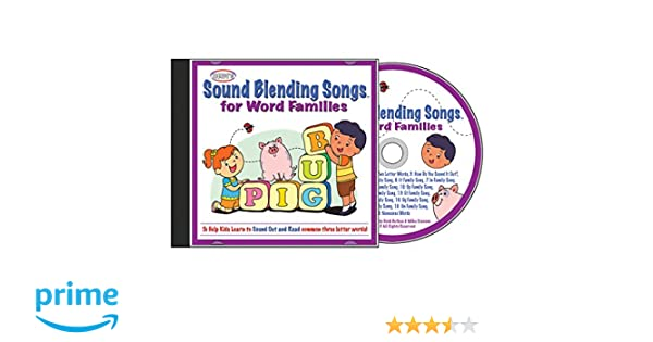 Sound Blending Songs for Word Families Cd - Amazon.com Music