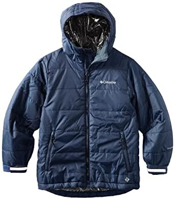 Columbia Big Boys' Shimmer Me Jacket, Collegiate Navy, 10/12