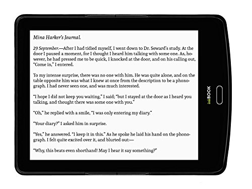 inkBOOK Prime - 6'' ebook reader with ePaper E Ink Carta Flat Glass Solution touchscreen with Rapid Refresh technology, Built-in Light (8 LED), Android, App Store, Wi-Fi, 8 G by inkBOOK (Image #4)