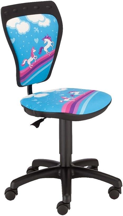 Children Child Girls Horses Swivel Desk Chair Ministyle Ts22 Rts Pony Amazon De Kuche Haushalt
