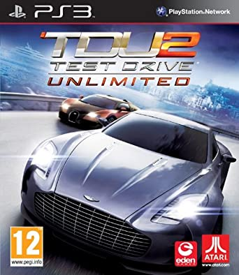 Atari Test Drive Unlimited 2 - PS3 - video games