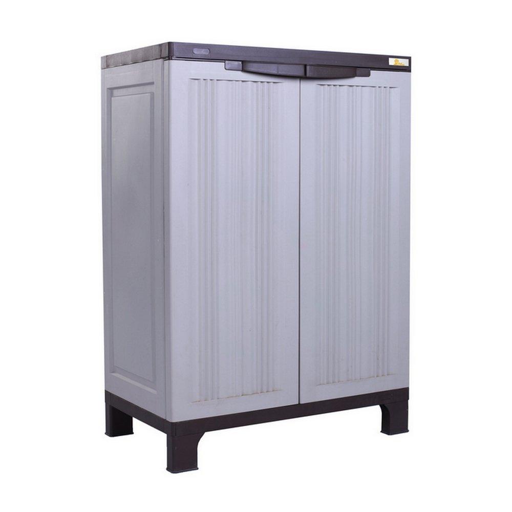 Palm Springs 95cm//3FT Lockable Compact Garden Cabinet