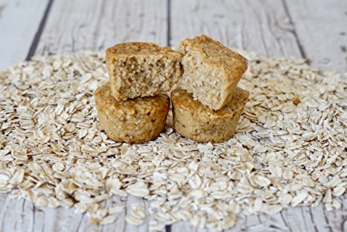 Bobo's Oat Bites (Coconut, 24 Pack Box of 1.3 oz Bites) Gluten Free Whole Grain Rolled Oat Snack- Great Tasting Vegan On-The-Go Snack, Made in the USA by Bobo's (Image #8)