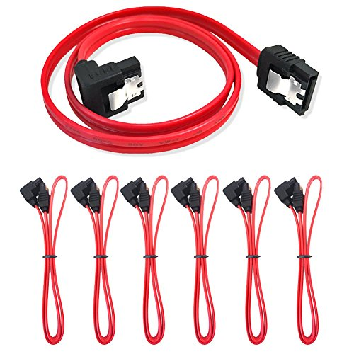 6-pack-18-inch-sata-iii-60-gbps-cable-with-locking-latch-and-90-degree-plug-red