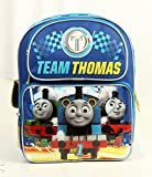 "Team Thomas 12"" School Backpack Blue Color"